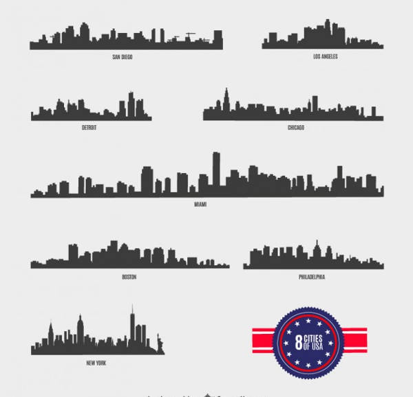 American City Silhouette