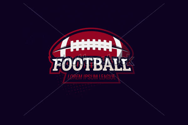 9 football logos editable psd ai vector eps format download
