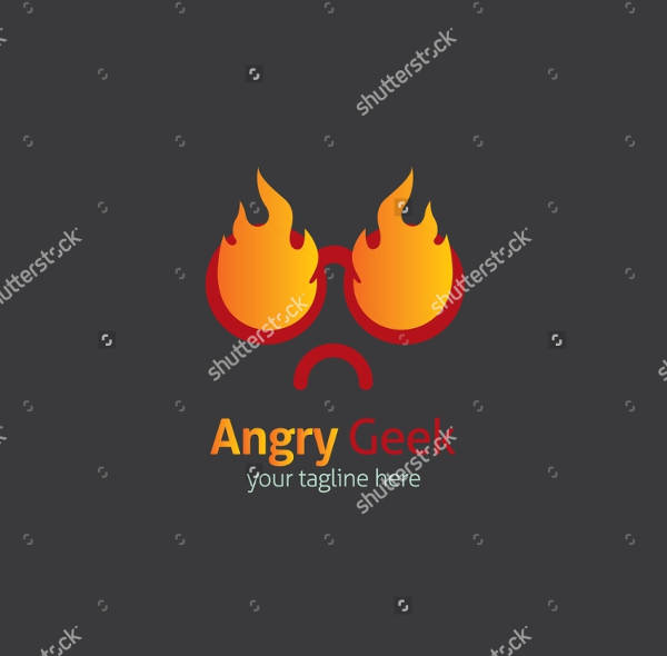 Angry Fire Logo Design