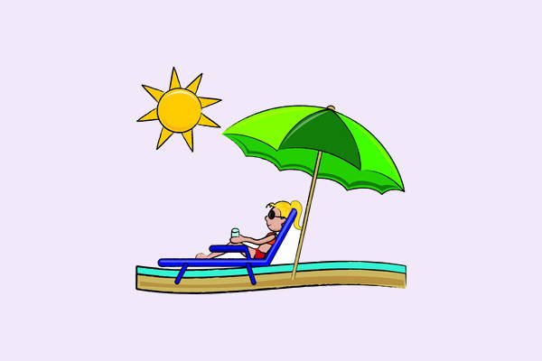 Animated Beach Clip Art