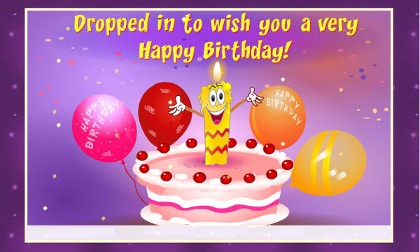 Animated Birthday Greetings
