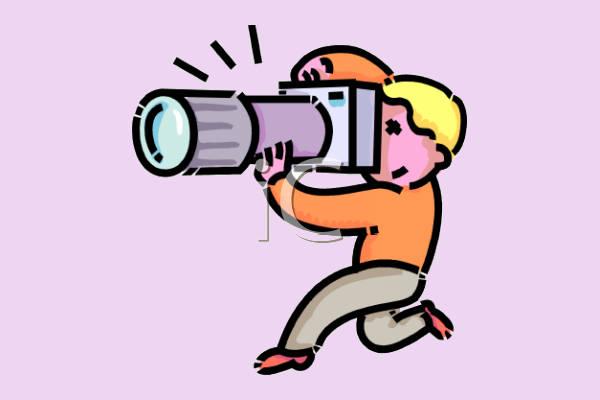 Animated Camera Clip Art