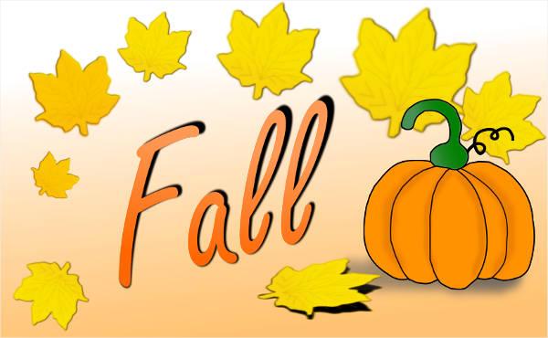 Animated Fall Clip Art