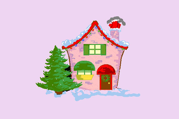 Animated House Clipart