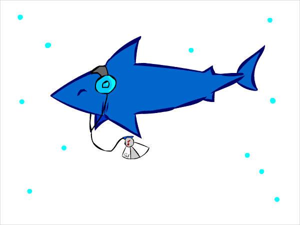 Animated Shark Clipart