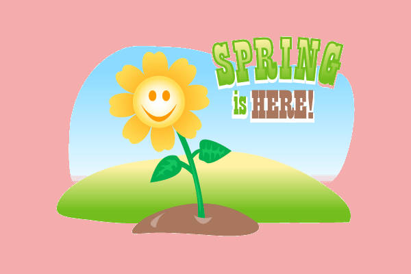 Animated Spring Clip Art
