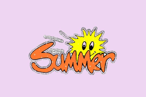 Animated Summer Clip Art