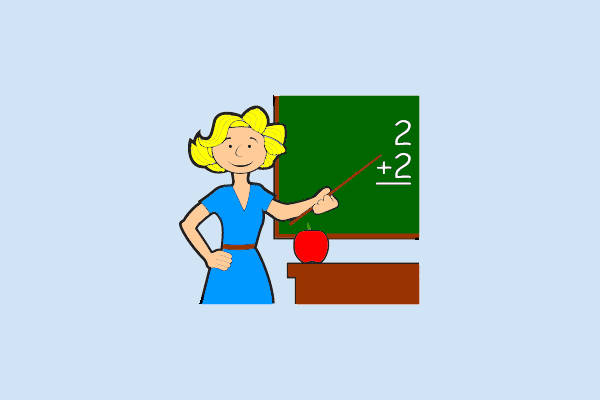 Animated Teacher Clipart