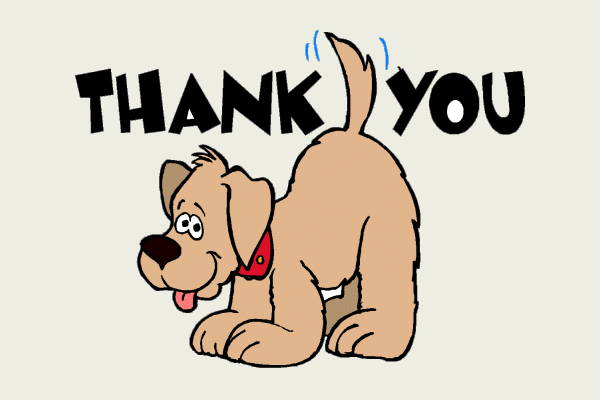 Animated Thank You Clipart