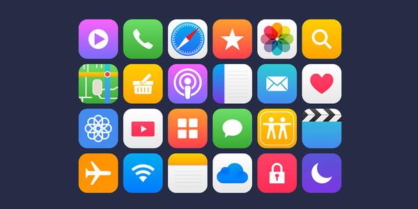 Apple App Icons