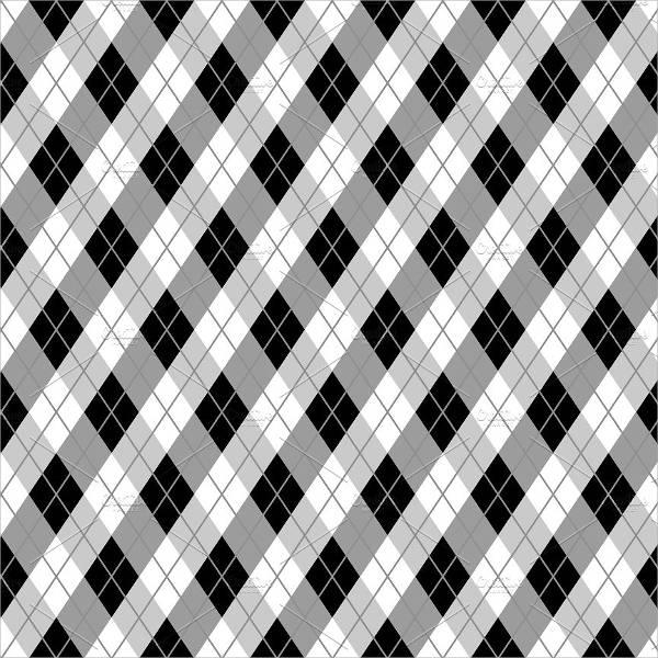 Argyle Vector Pattern