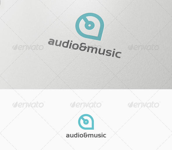 Audio Music Logo