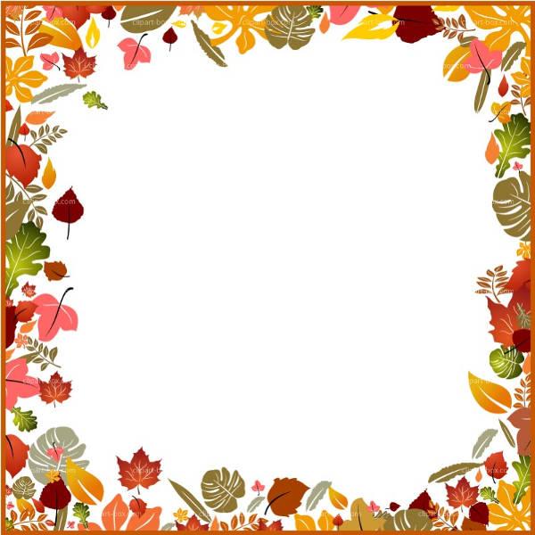 Autumn Clip Art Border