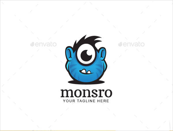 Awesome Monster Logo