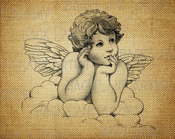 Baby Angel Drawing