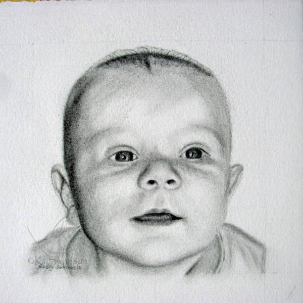 Baby Boy Drawing