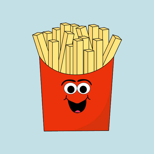 Baby French Fries Food Clipart
