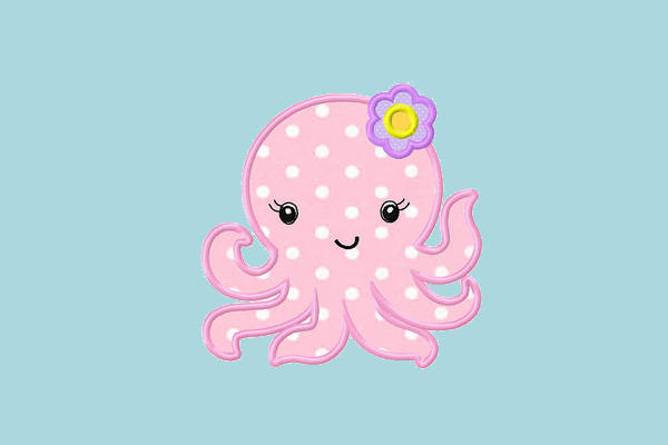 Baby Octopus Clipart