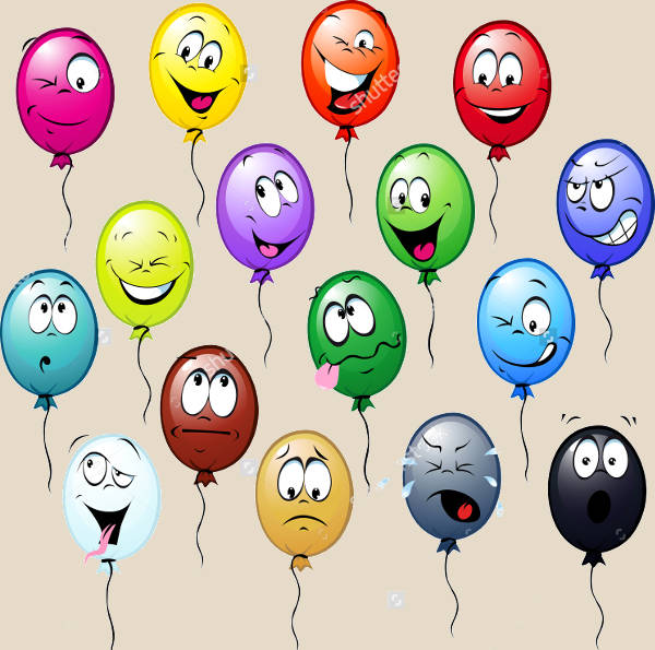 Balloon Cartoon Clip Art