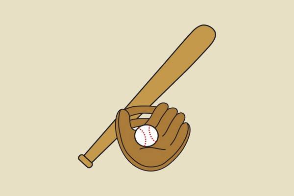 Baseball Cartoon Clipart