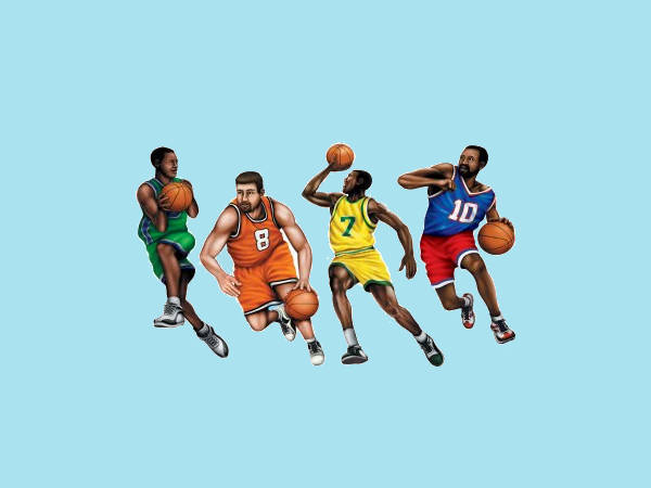 Basketball Animated Clipart