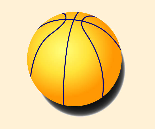 Basketball Ball Clipart