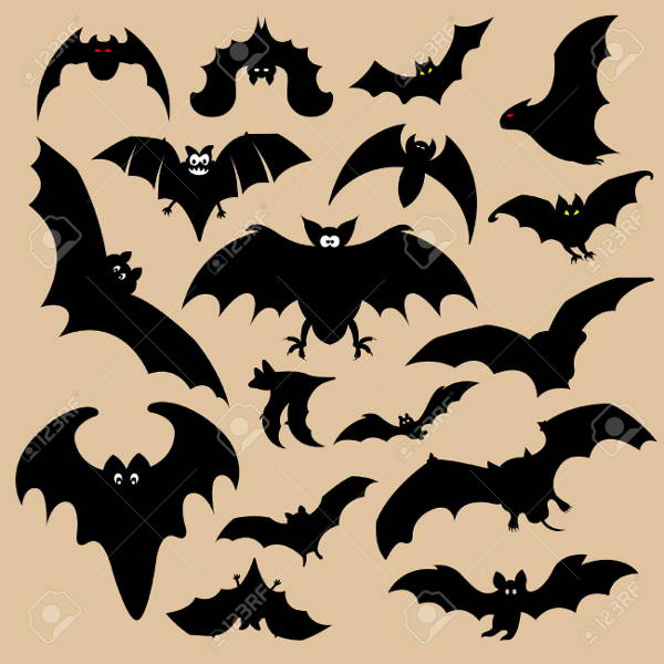 Batman Cartoon Silhouette