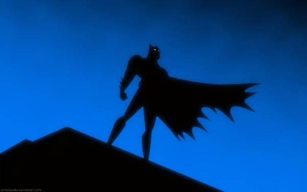 Batman Title Silhouette