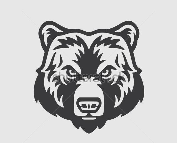 Bear Head Logo Design