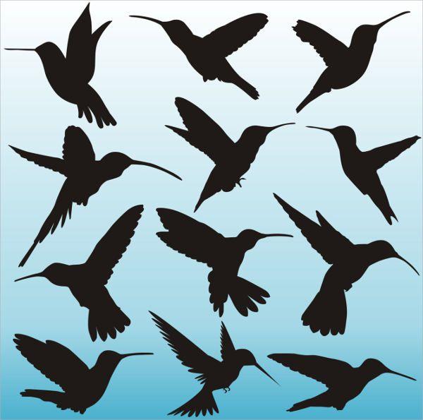Bird Silhouette Pattern