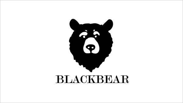Black Bear Logo Design