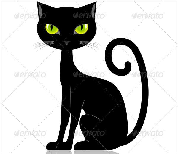 Black Cat Silhouettev