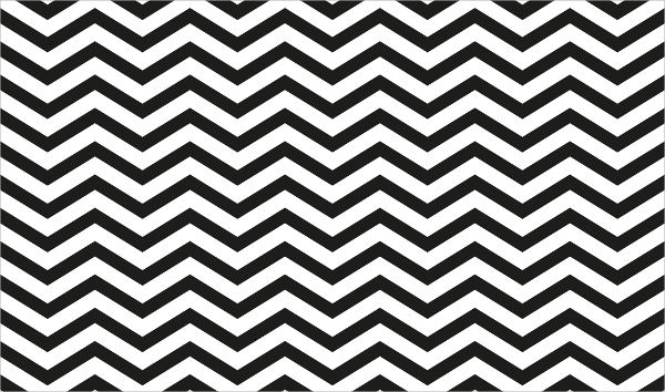 Black Chevron Pattern