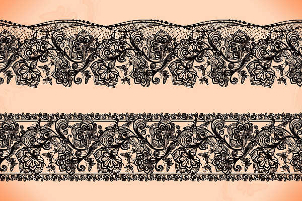 Black Lace Pattern