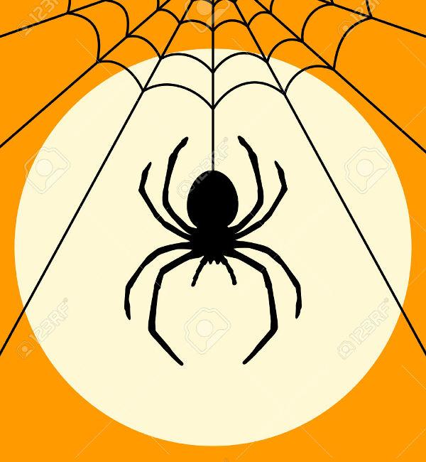 Black Spider Silhoutee
