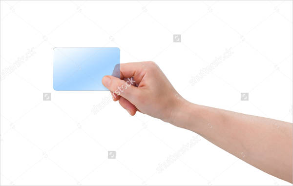 Blank Plastic Business Card