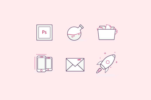 Blog Post Icons