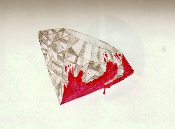 Blood Diamond Drawing