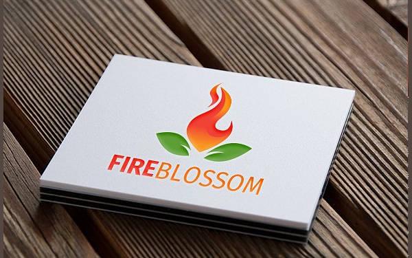 Blossom Fire Logo Design