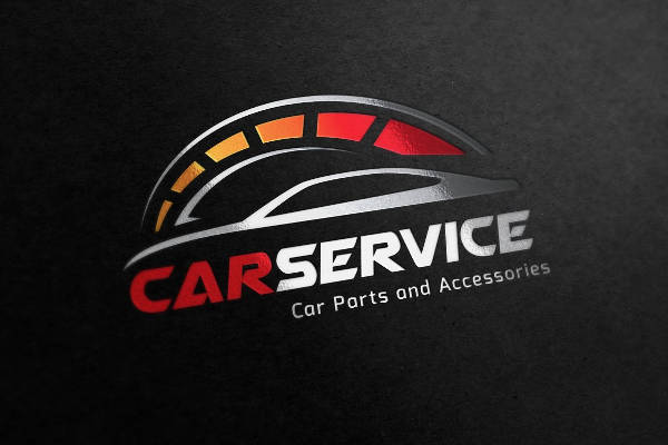 Brand Car Service Logo