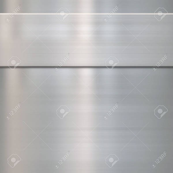 Brushed Steel Metallic Texture