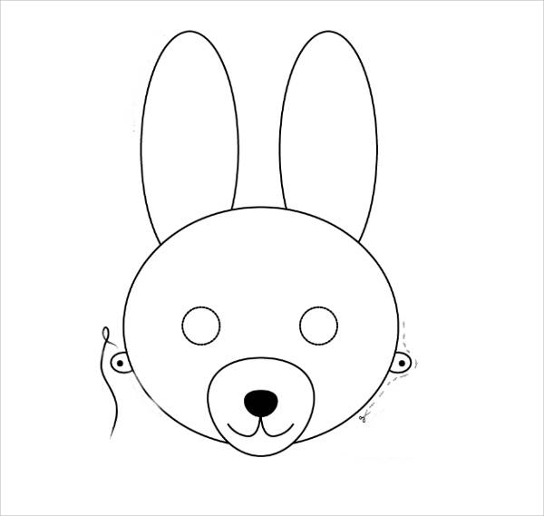 9 bunny coloring pages Easter Egg Coloring Sheets  Bunny Face Coloring Sheet