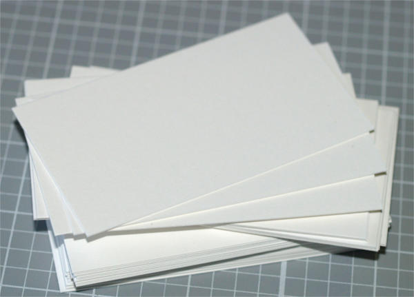 Business Card Blanks