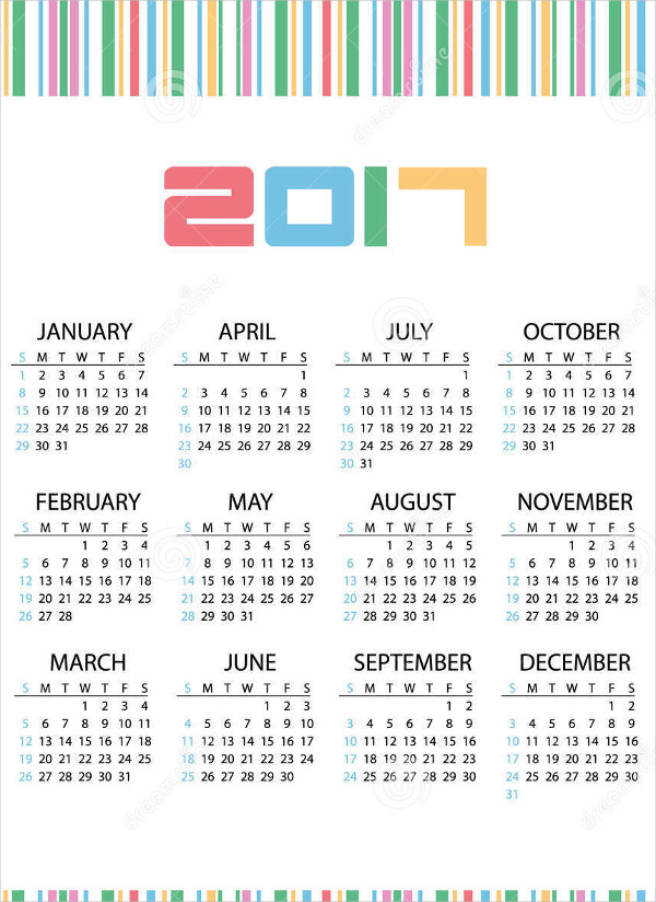 Corporate Wall Calendar Ideas : Business calendars psd vector eps ai illustrator