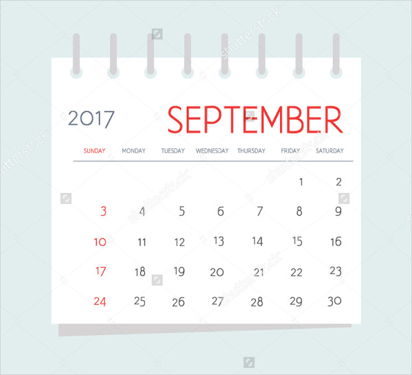 Business Week Calendar