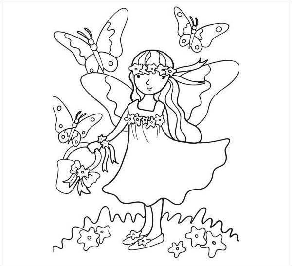 Butterfly Coloring Pages For Kid