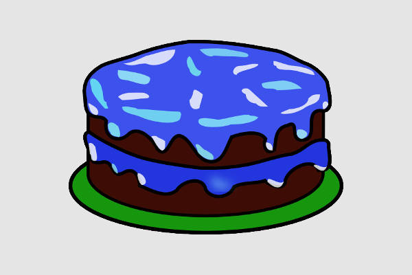 cake clipart without candles