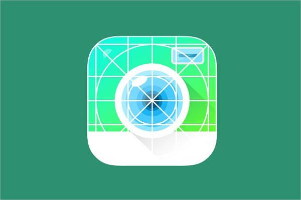 Camera App Icon Template