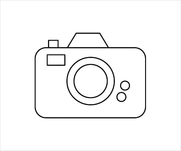 Camera Outline Clip Art