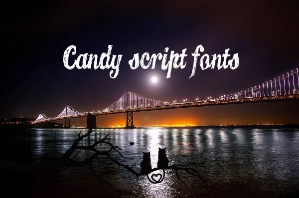 Candy Script Fonts